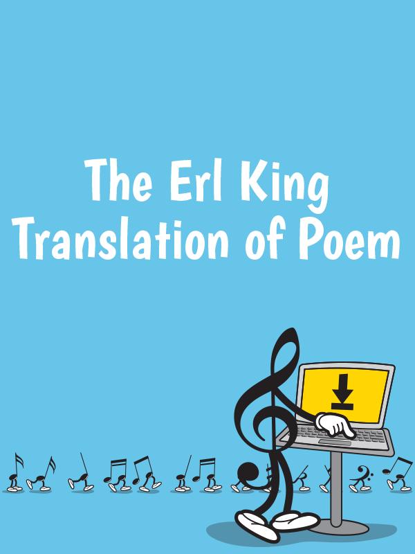 The Erl King translation of poem